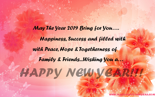 Happy New Year Greetings 2018
