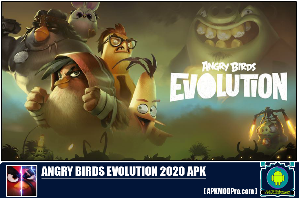 Download Angry Birds Evolution 2020 Mod Apk