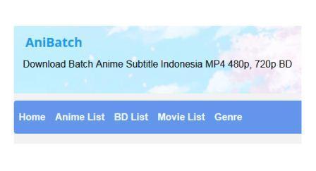 Situs Download Anime Lengkap Terbaik Sub Indo