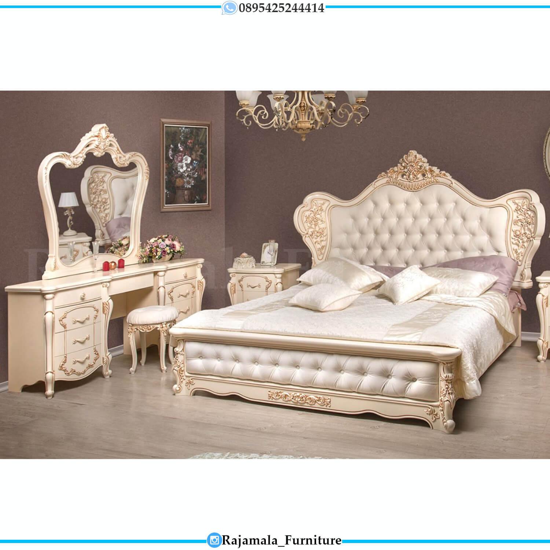 New Model Tempat Tidur Mewah Jepara Luxurious Royals Style RM-0234