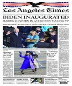 Los Angeles Times 21 January 2021