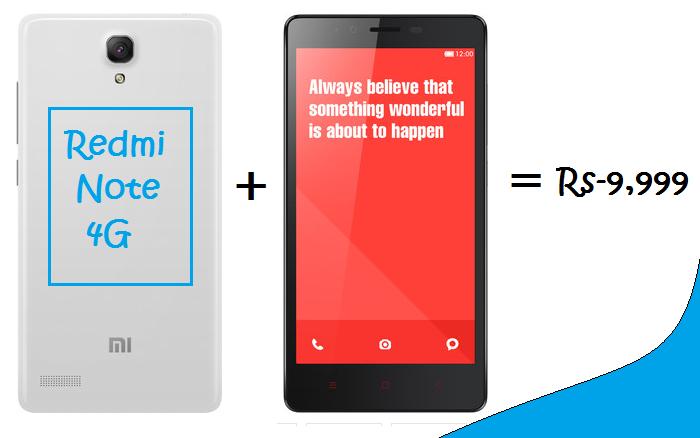 Redmi Note 4G(White)