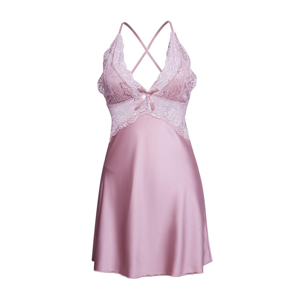Váy ngủ lụa gợi cảm 5
