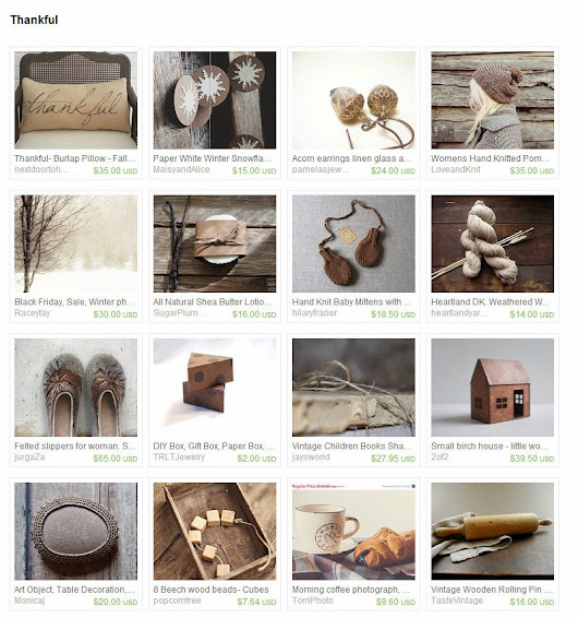 Samsarart Land: Thankful - on Etsy