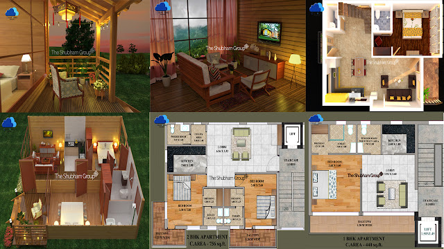 1BHK and 2 BHK Property in Dhanaulti