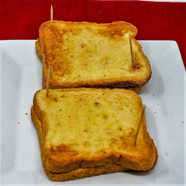 Air Fryer Grilled Cheese Sandwiches