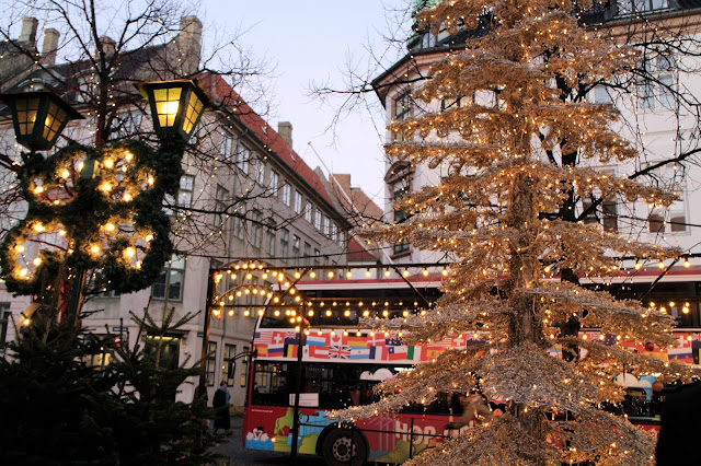 Copenhagen Christmas Market - festive tree decoration