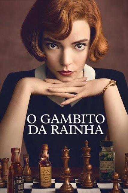 Minissérie O Gambito da Rainha - Netflix