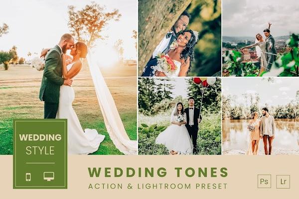 *NEW PRESETS + Photoshop Action!*Wedding Tones Action & Lightroom Preset