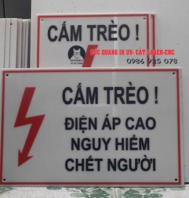 Cấm trèo điện áp cao nguy hiểm chết người