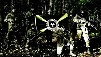 A maior ofensiva contra o grupo neonazista Atomwaffen