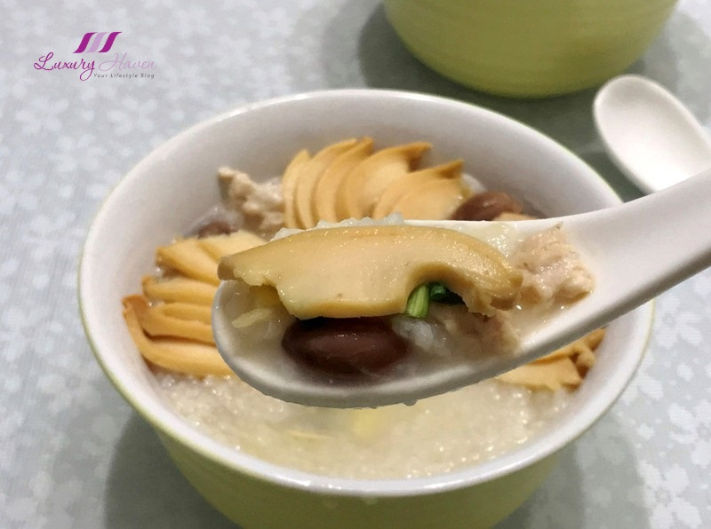 hockhua tiger king abalone minced pork congee recipe