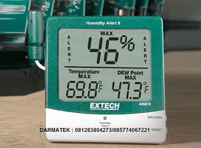 Darmatek Jual Extech 445815 Hygro-Thermo Humidity Alert with Dew Point