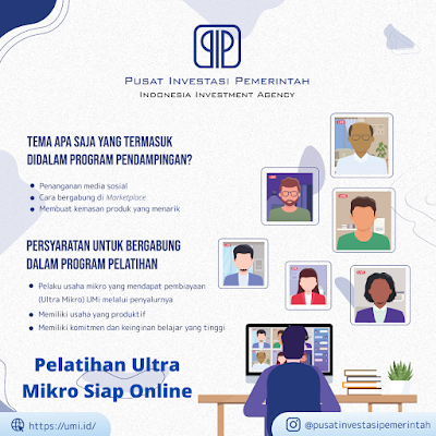 Pelatihan Ultra Mikro Siap Online