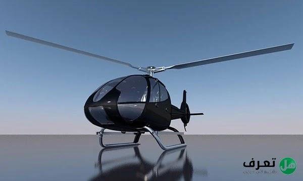 كيف تطير الهليكوبتر