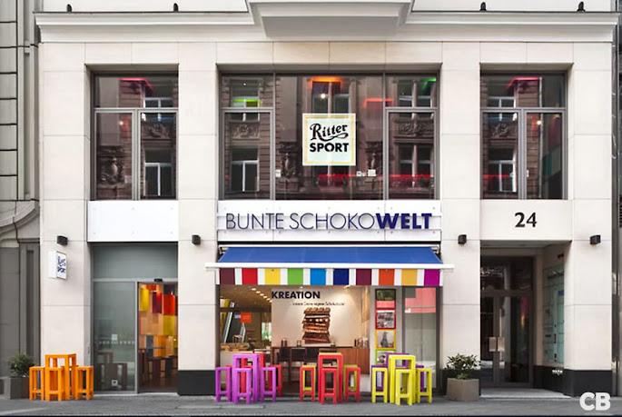 Bunte Schokowelt in Berlijn