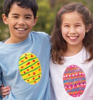 Easter Craft: Decorate Your Own Egg Tees