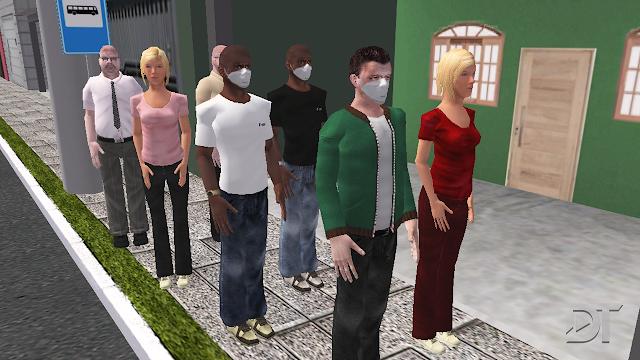 OMSI 2 - Mod de máscara para os passageiros e pedestres