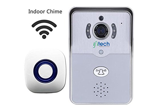 IFITech WiFi Enabled Video Door Bell and Chime with Mobile