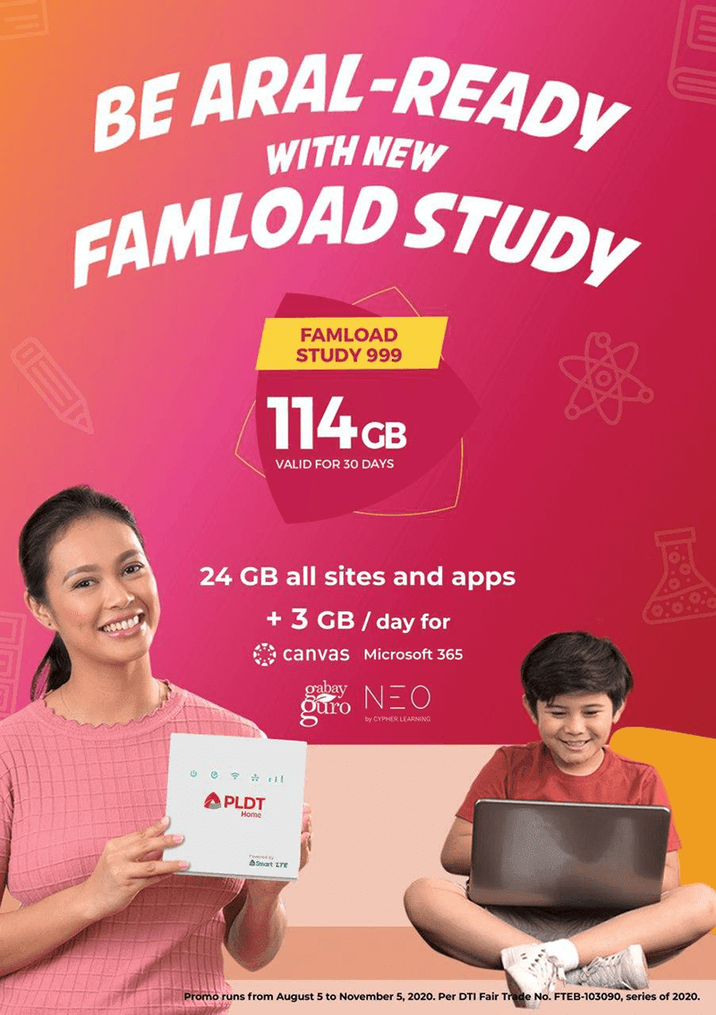 PLDT Home launches prepaid data packs for e-learning at home