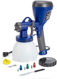 blue electric paint sprayer