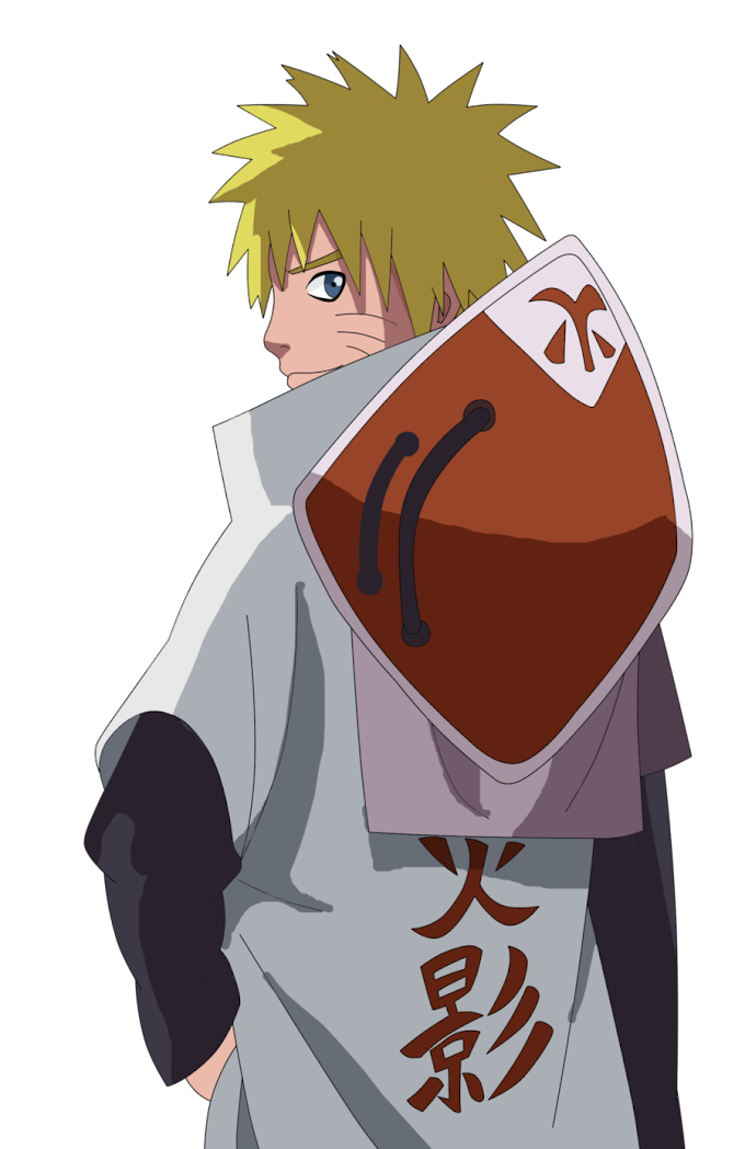 Render Naruto, Hokage Uzumaki Naruto, png free png