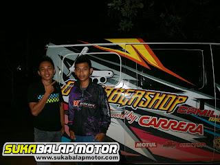 D'BARBERSHOP  feat CARRERA Racing Team Duetkan Bayu Ucil dan Nicco Sakaw di Kejurda Drag Bike Champions Cup Seri ke 2 31 Maret - 1 April 2018