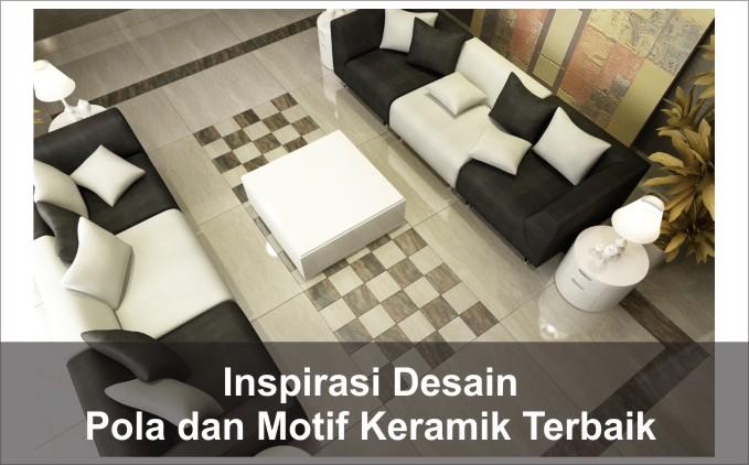 desain pola motif keramik rumah