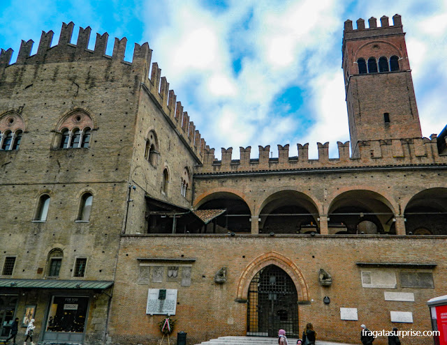 Bolonha: Palazzo Re Enzo