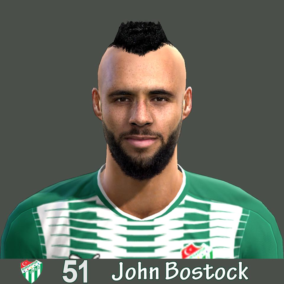 Ultigamerz Pes 2010 Pes 2011 Face: Ultigamerz: PES 2013 John Bostock (Bursaspor) Face