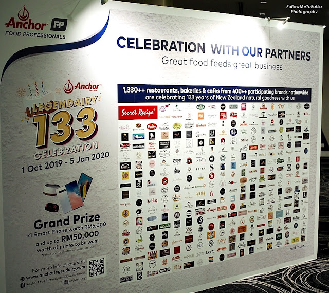 ANCHOR LEGENDARY 133 YEARS CELEBRATION By ANCHOR FOOD PROFESSIONALS MALAYSIA-BRUNEI