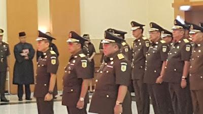 Ali Mukartono, Emban Tugas Sebagai Jaksa Agung Muda Pidana Khusus