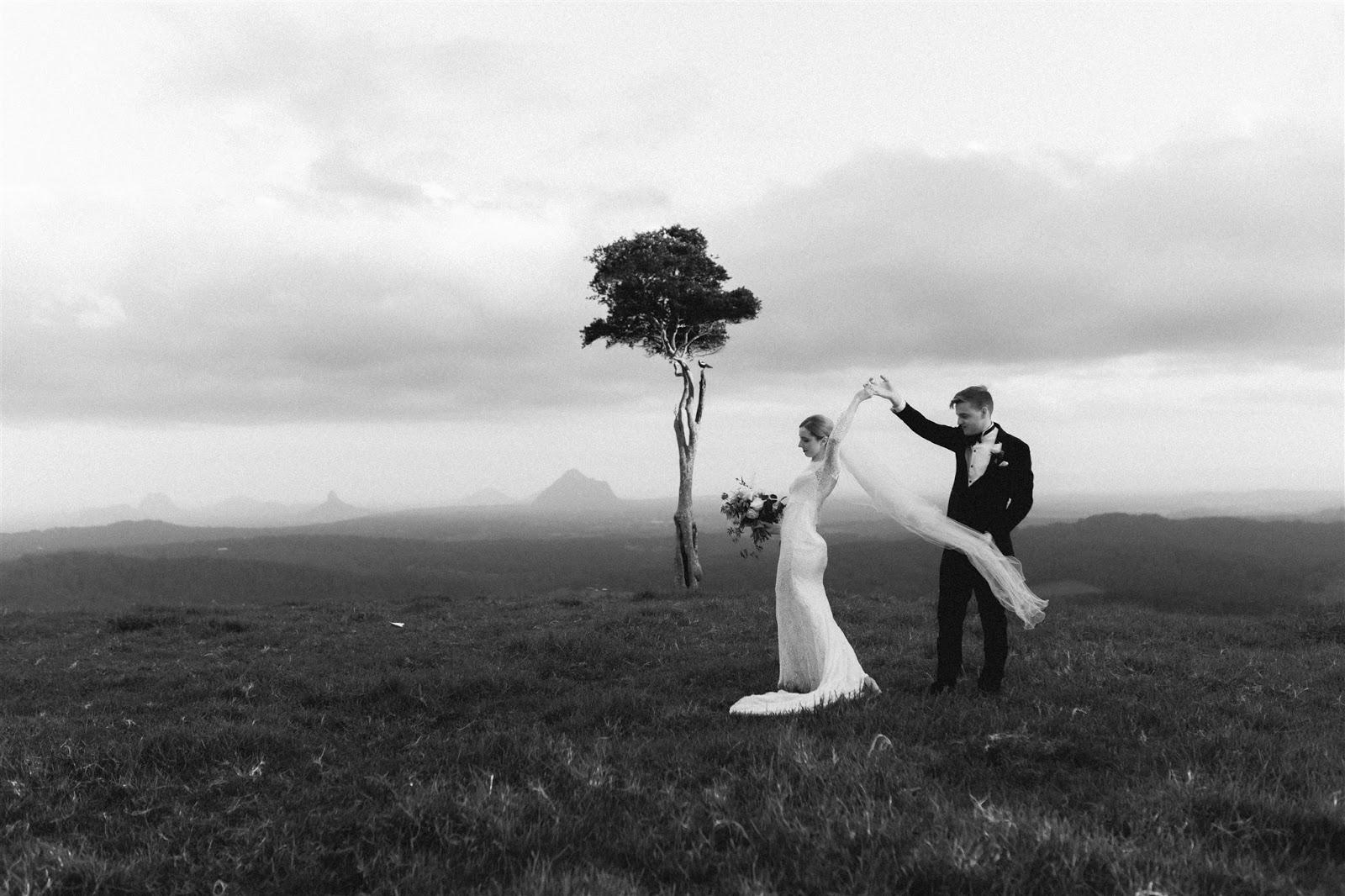 LOVE: ALLY + DAVID   CLASSIC WEDDING SUNSHINE COAST QLD