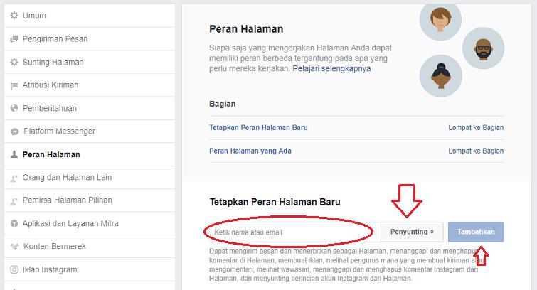 cara menjadi admin di halaman facebook