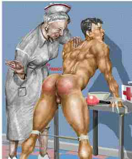 nurse spanks