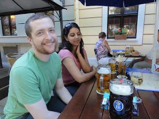 1 liter beers! (Photo courtesy of Alvin C.)
