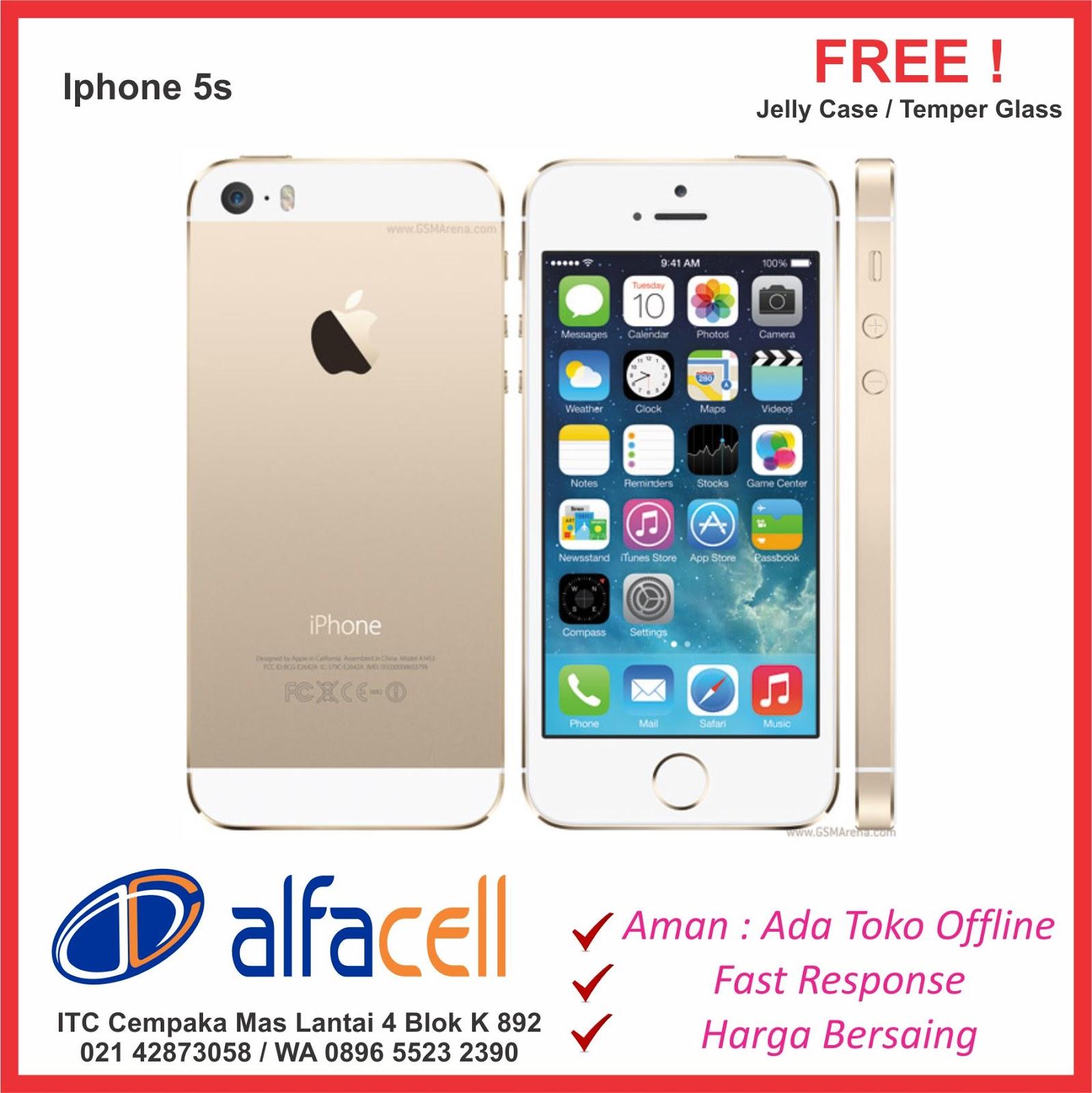 Iphone 5s murah ITC Cempaka Mas Jakarta.Bisa Kredit tanpa kartu Kredit    Cash. 80362e4c65