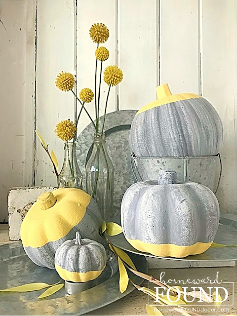 faux finish,farmhouse style,home decor,thrifted,colorful home,diy decorating,Thanksgiving,,fall,DIY,painting,boho style,Halloween,fall home decor,decorating with pumpkins,pumpkin decorating,painted pumpkins,faux concrete painting tutorial