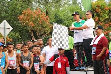 PERINGATI HARI JUANG TNI AD, Ribuan Peserta Ikuti Pariaman Wirabraja Run 2019