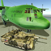 US Army Transport Game: Military Cargo Plane Games for Android