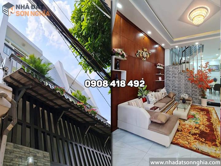 Bán nhà Gò Vấp hẻm 417 Quang Trung phường 10