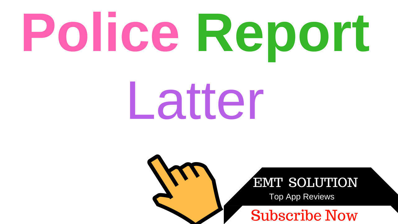 Emt solution sample letter to police to report lost or stolen sample letter to police to report lost or stolen mobile phone and any item spiritdancerdesigns Gallery