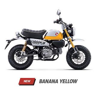 Warna Honda Monkey 2022, Hadir Dengan Varian Warna Baru
