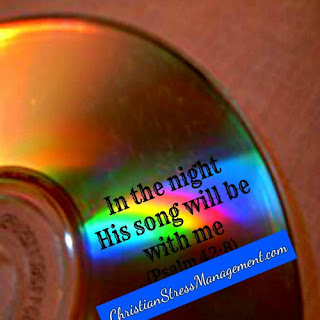 In the night His song is with me Psalm 42:8
