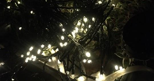 mein testblog nicki testet die qedertek weihnachtsbeleuchtung au en solar lichterkette. Black Bedroom Furniture Sets. Home Design Ideas