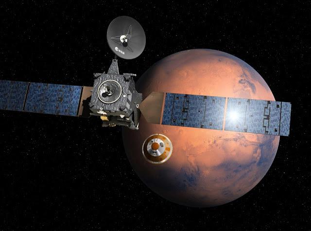 TGO e Schiaparelli - Marte - ESA