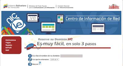 dominio .com.ve