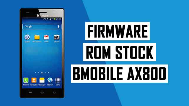 rom stock Bmobile AX800