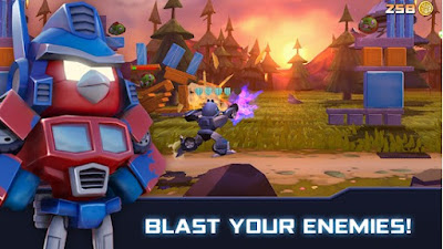Angry Birds Transformers Apk (MOD, Coins/Unlocked) Data for Android
