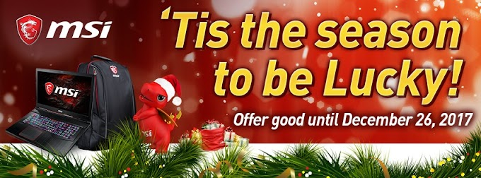 MSI Launches Its Christmas Promo With Up To Php 15,000 Cash Discount